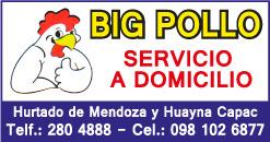 Big pollo asadero de pollos en cuenca azuay for Guia telefonica malaga