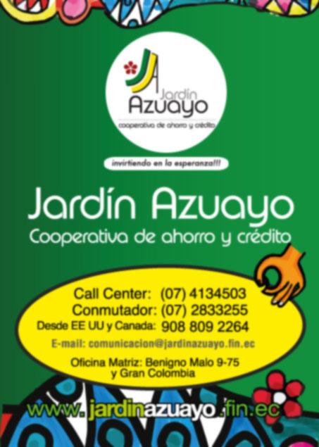Cooperativa de ahorro y credito jardin azuayo en loja for Jardin azuayo