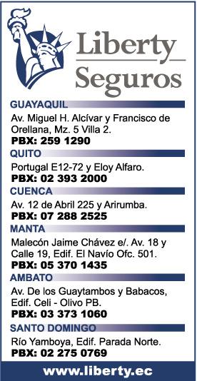 Sucursales de liberty seguros en guayaquil edina p ginas for Oficina liberty seguros