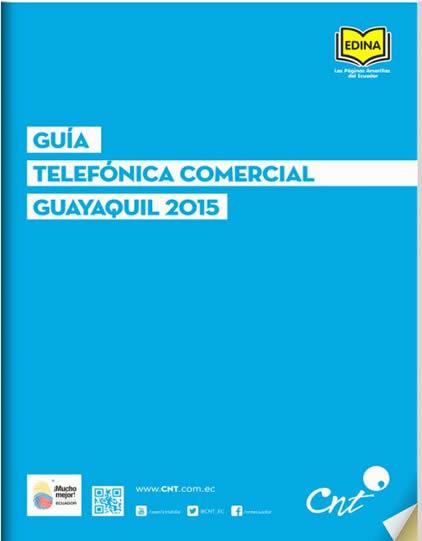 Edición Actual Guía Telefónica Guayaquil 2015