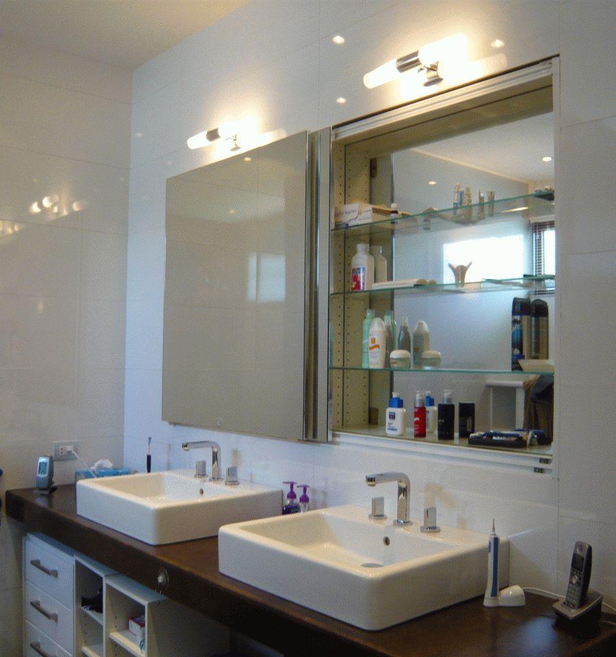 Gabinetes Para Baño Cali:BOHTRI: Gabinetes de Baño – puertas corredizas con espejos y repisas