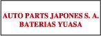 Baterias Yuasa Auto Parts Japones S.A.-logo