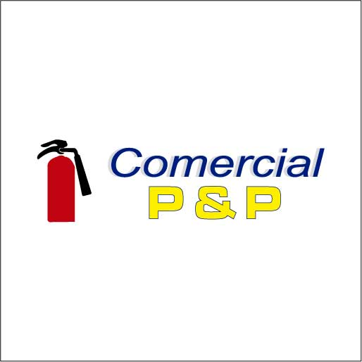 Comercial P & P-logo