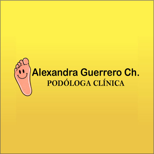 Alexandra Guerrero Chávez - Podóloga Clínica-logo