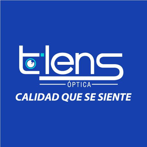 t-lens óptica-logo