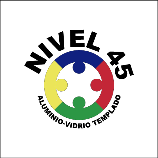Aluminio y Vidrio Nivel 45-logo