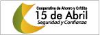 Logo de Cooperativa de Ahorro y Crédito 15 de Abril