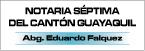 Notaría Séptima Del Cantón Guayaquil-logo