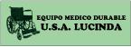 Equipo Médico Durable U.S.A. Lucinda-logo