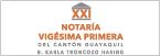 Notaría Vigésima Primera Cantón Guayaquil-logo