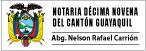 Notaría Décimo Novena (19) de Guayaquil-logo