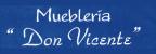 """Mueblería """"Don Vicente""""-logo"""