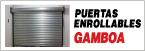 Distribuidor de Puertas Enrollables Gamboa-logo