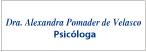 Pomader Alexandra de Velasco Dra.-logo