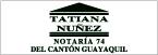 Notaría 74 del Cantón Guayaquil-logo