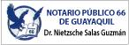 Notaría Pública 66 del Cantón Guayaquil-logo