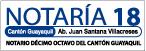 Notaría Décima Octava (18) del Cantón Guayaquil-logo
