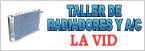 Taller de Radiadores y A/C La Vid-logo
