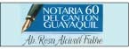 Notaría Sesenta del Cantón Guayaquil-logo