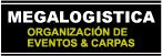 Alquileres, Carpas, Videos y Organización de Eventos Megalogística-logo