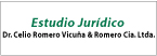 Estudio Jurídico Dr. Celio Romero Vicuña & Romero Cia. Ltda.-logo