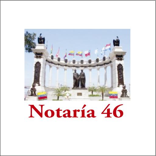 Notaría 46 de Guayaquil-logo