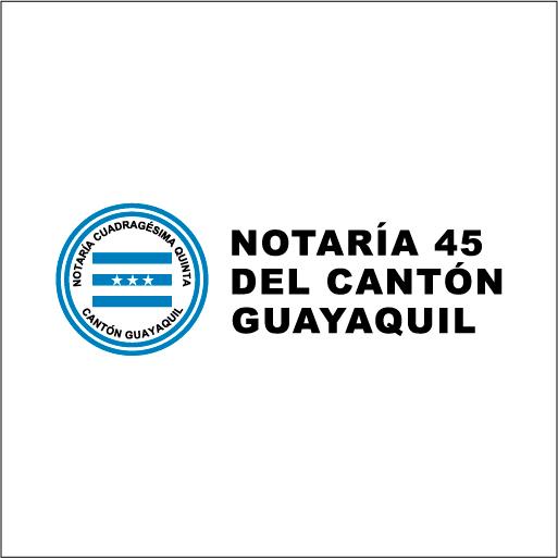 Notaría 45 del Cantón Guayaquil-logo