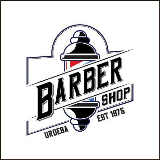 Urdesa Barber Shop Center-logo