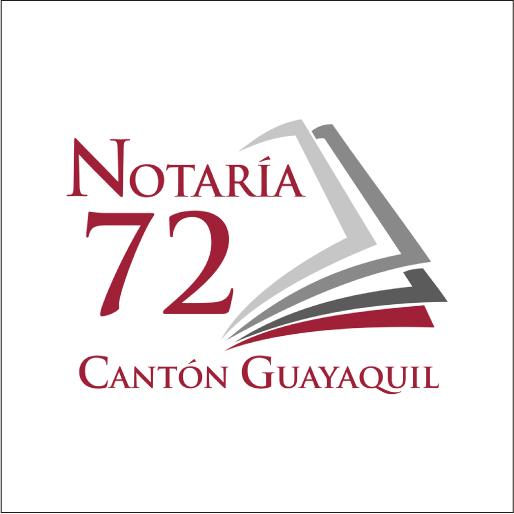 Notaría 72 - Cantón Guayaquil-logo
