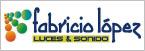 Fabricio López Luces & Sonido-logo