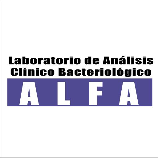 Laboratorio de Análisis Clínico Bacteriológico ALFA-logo