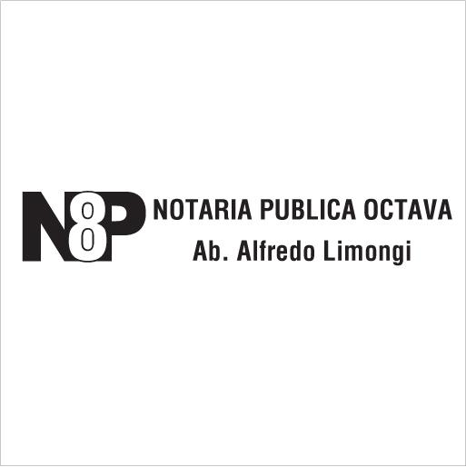Notaría Pública Octava-logo