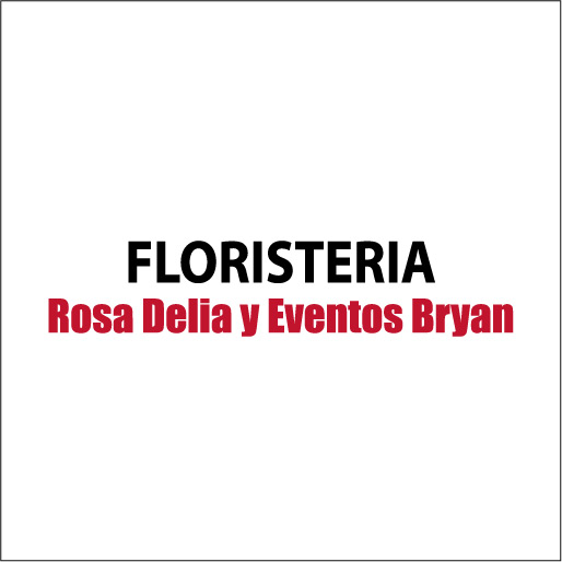 """Florería """"Rosa Delia"""" y Eventos Bryan-logo"""