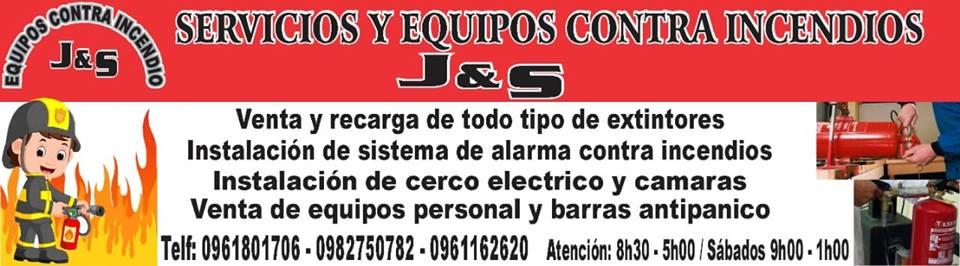 """Equipos contra Incendios """"J & S""""-logo"""