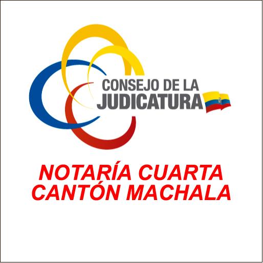 Notaría Cuarta Cantón Machala-logo