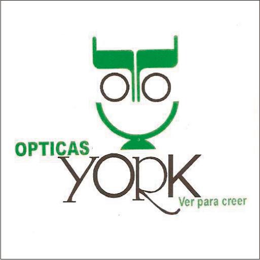 Ópticas York-logo