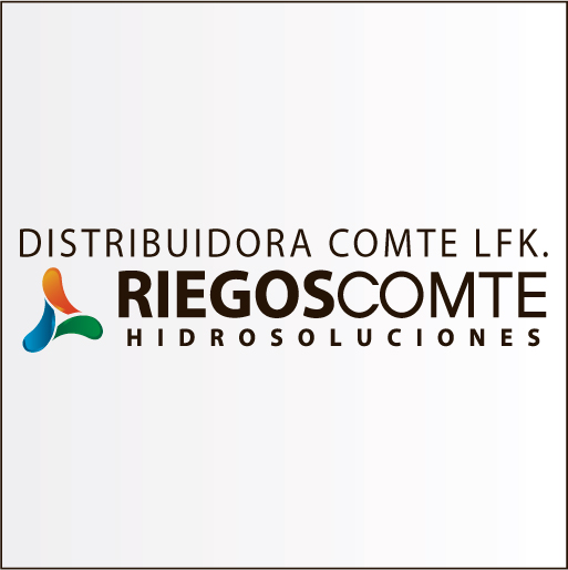 "Riegos Comte ""Distribuidora Comte L.F.K.""-logo"