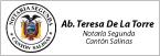 Notaría Segunda del Cantón Salinas-logo