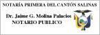 Notaría Primera del Cantón Salinas-logo