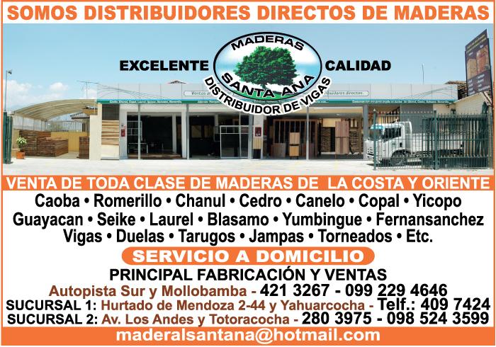 Maderas -