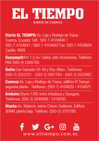 Sucursales De Diario El Tiempo En Cuenca Azuay Ecuador