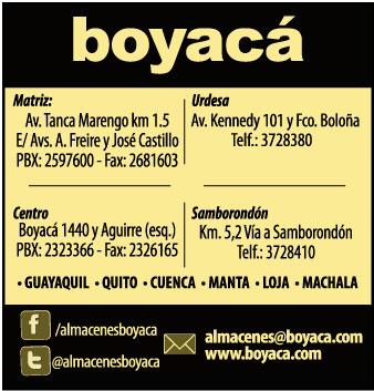 Sucursales De Almacenes Boyac 225 En Guayaquil Guayas Ecuador