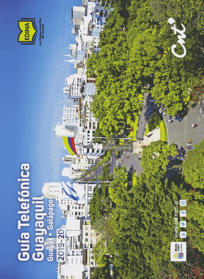 Guia Telefonica Guayaquil 2019 Ecuador