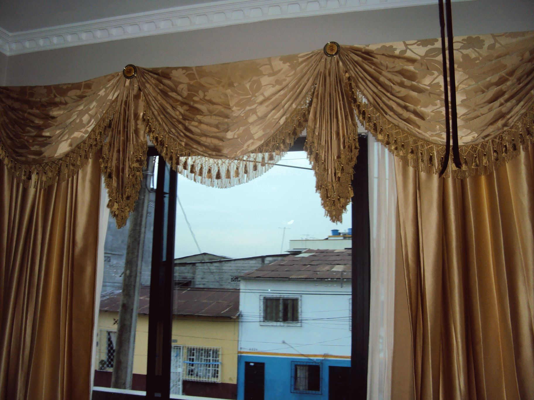 Avisos fotos videos almacenes de cortinas dise os del hogar for Cortinas amarillas