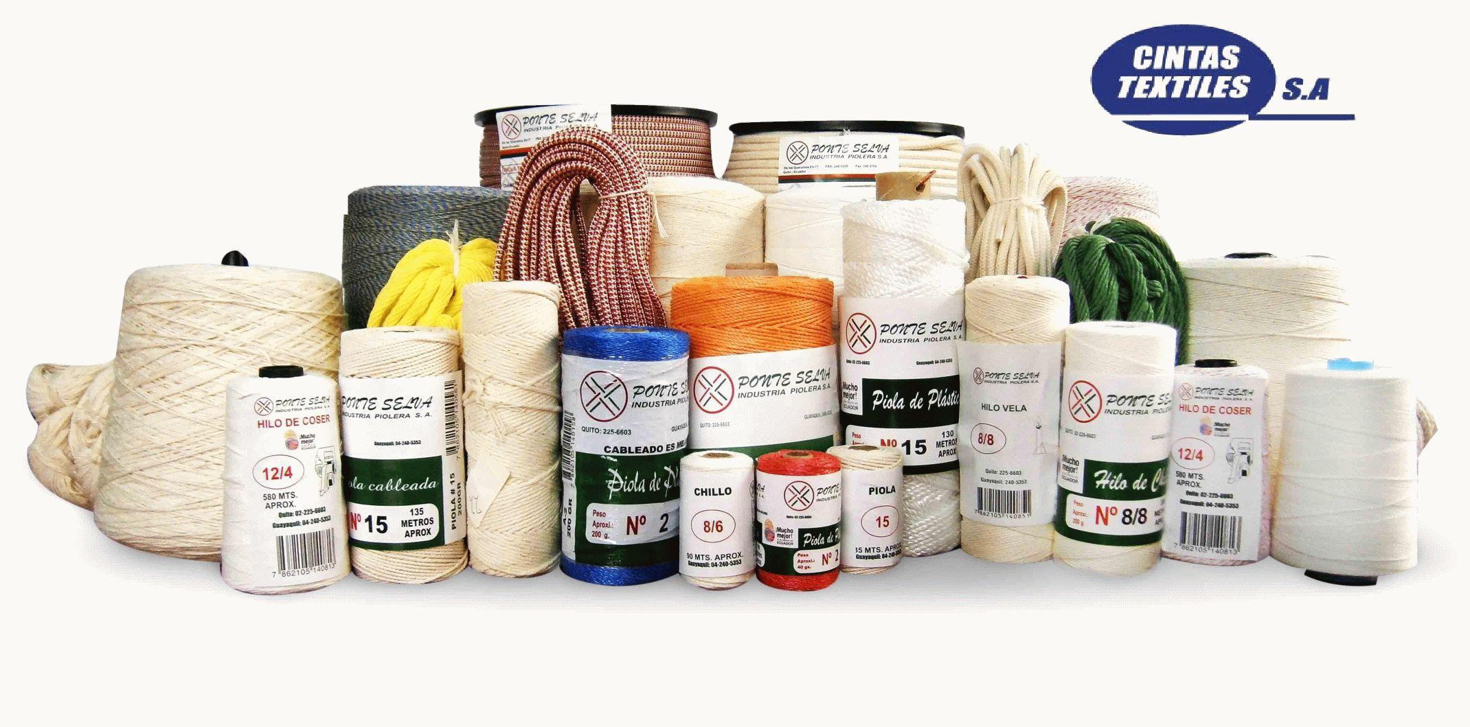 PIOLAS - Diversos tipos de piola que suministramos