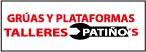 Logo de Gruas+y+Plataformas+Talleres+Pati%c3%b1o%27s