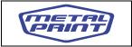 Logo de Narv%c3%a1ez+Metal+Print