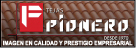 Logo de Tejas+Pionero