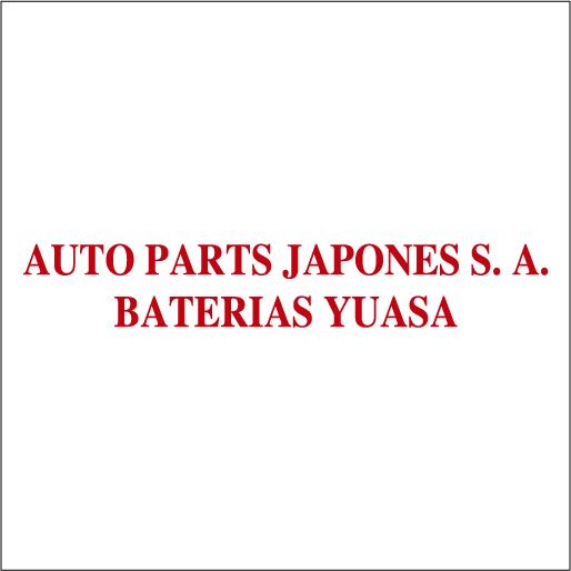 Logo de Baterías Yuasa Auto Parts Japones