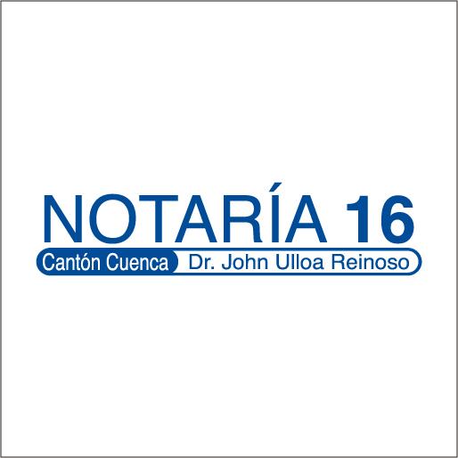 Logo de Notar%c3%ada+D%c3%a9cima+Sexta